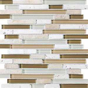 GlassTile Bliss-GlassStone 35-011 Bamboo