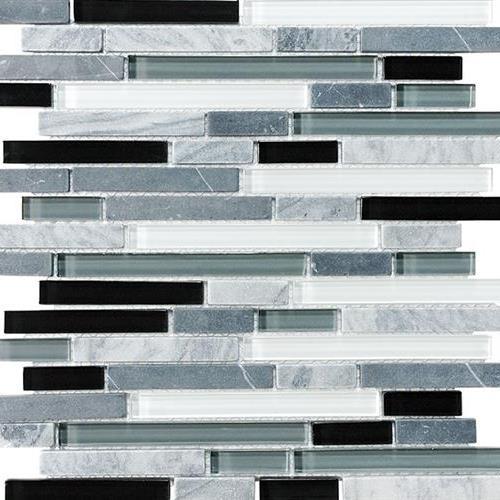 GlassTile Bliss - Glass Stone Midnight       main image