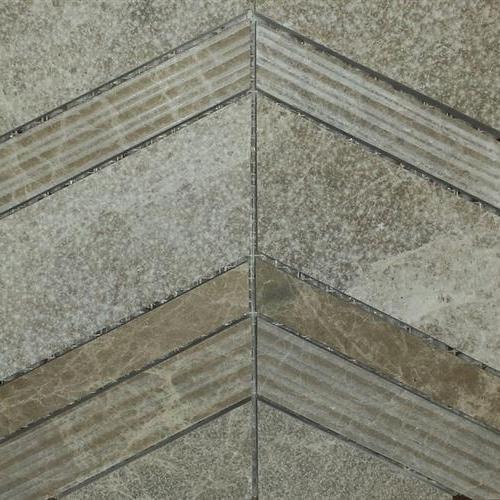 Chevron Mosaic Cedar