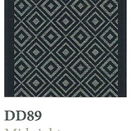 Tapique Runner  Area Rug Collection Double Diamond - Midnight DD89