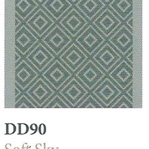 Tapique Runner  Area Rug Collection Double Diamond - Soft Sky DD90