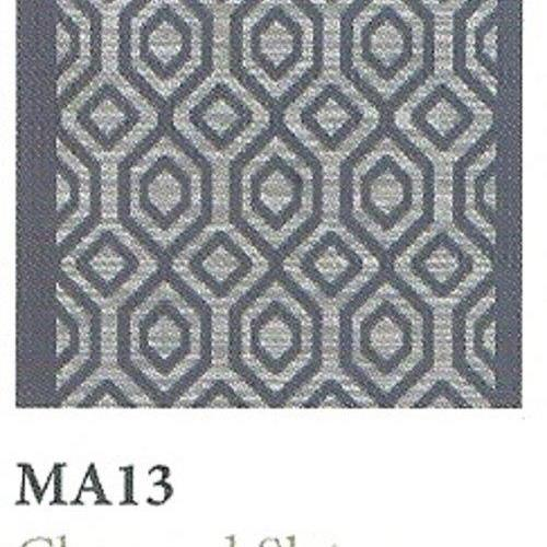 Tapique Runner  Area Rug Collection Masquerade - Charcoal Slate MA13