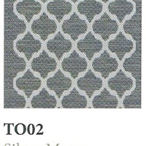 Tapique Runner  Area Rug Collection Torch - Silver Moon TO02
