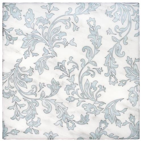 Charleston Pattern Carolina Blue