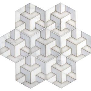NaturalStone AlstonTribeca ALSTRI-BEI5 Beige-Hexagon