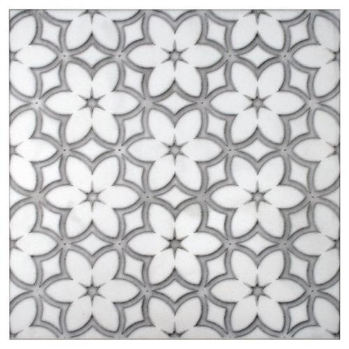Wallflower Pattern Cinder Grey