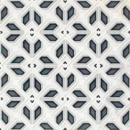 Avery Petite Pattern Charcoal 6X6 - Carrara