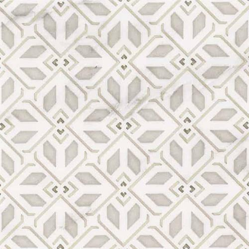 Avery Petite Pattern Latte 6X6 - Carrara