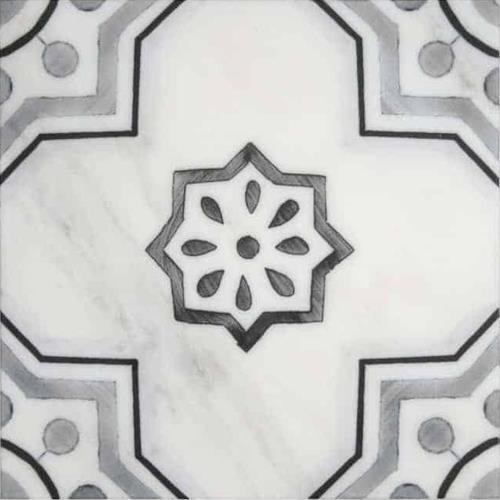 Chapman Pattern Shade 12X12 - Carrara