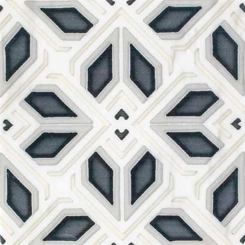 Avery Grande Pattern Charcoal 6X6 - Carrara