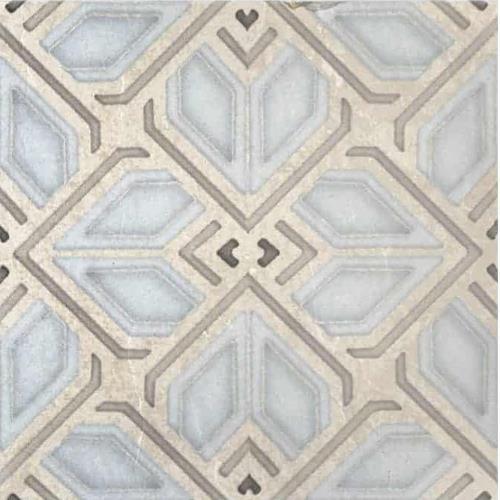 Avery Grande Pattern Sky 12X12 - Limestone