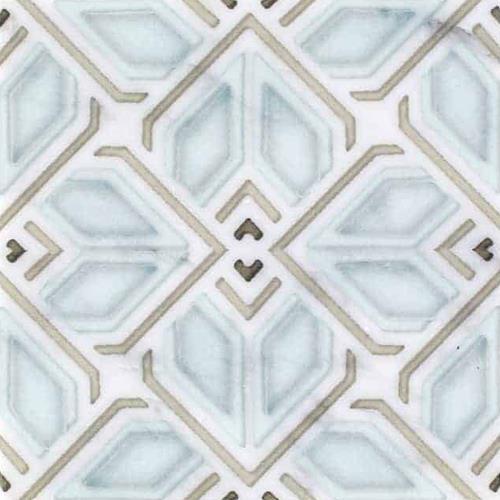 Avery Grande Pattern Sky 6X6 - Carrara