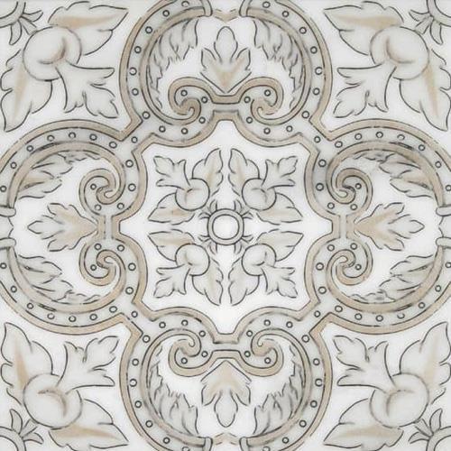 Arya Pattern Autumn 12X12 - Carrara