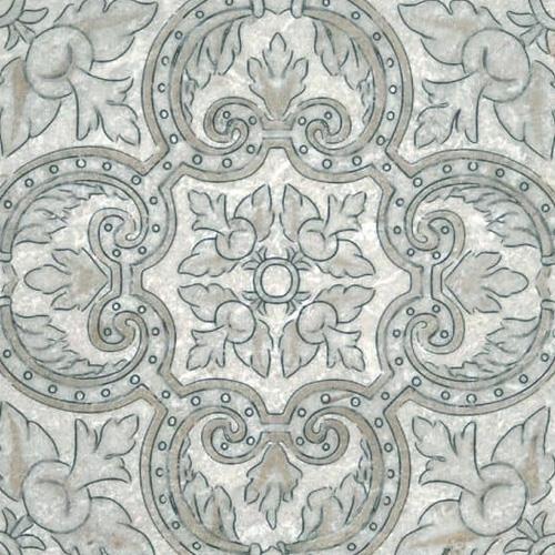 Arya Pattern Autumn 6X6 - Perle Blanc