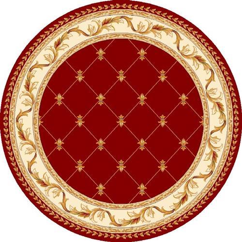 Corinthian-5319-Red Fleur-De-Lis