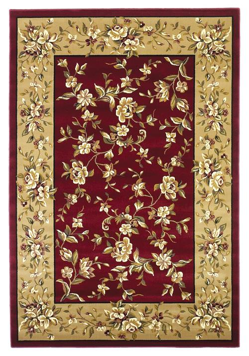 Cambridge-7337-Red/Beige Floral Delight