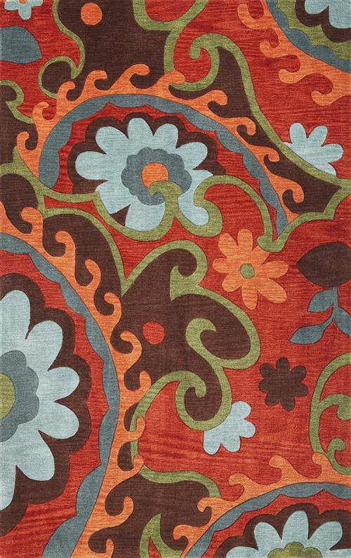 Bali-2877-Mocha/Rust Serafina