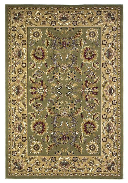 Cambridge-7304-Green/Taupe Kashan