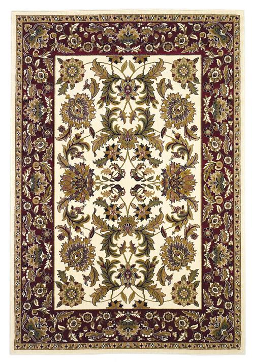 Cambridge-7303-Ivory/Red Kashan