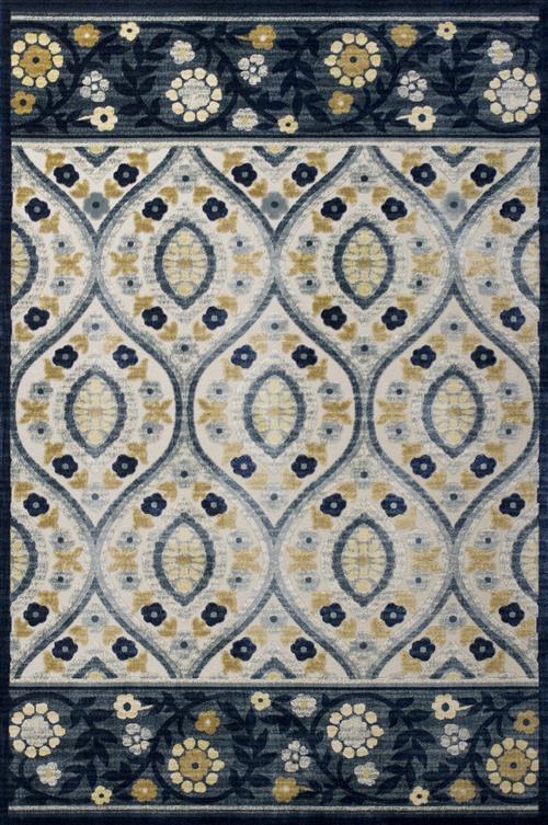 Anna-8723-Ivory/Blue Serafina