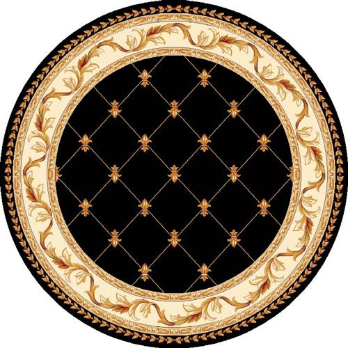 Corinthian-5321-Black Fleur-De-Lis