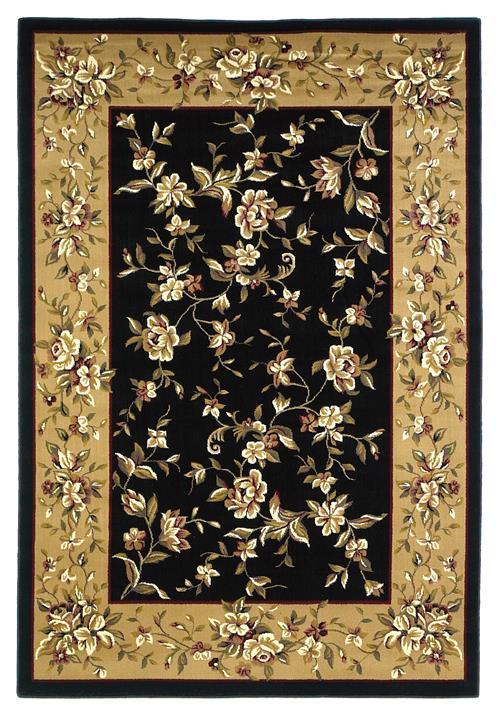 Cambridge-7336-Black/Beige Floral Delight