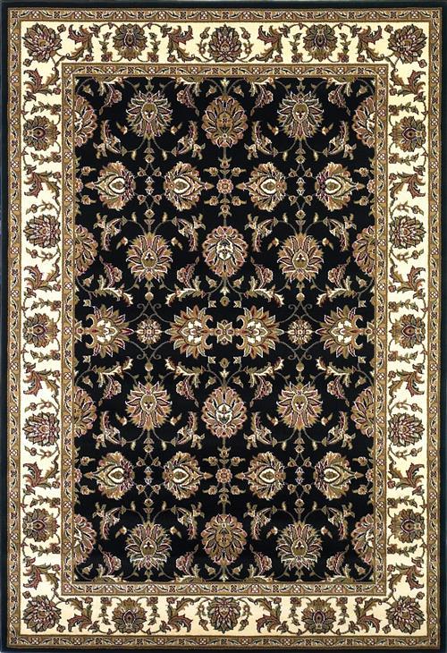 Cambridge-7313-Black/Ivory Kashan