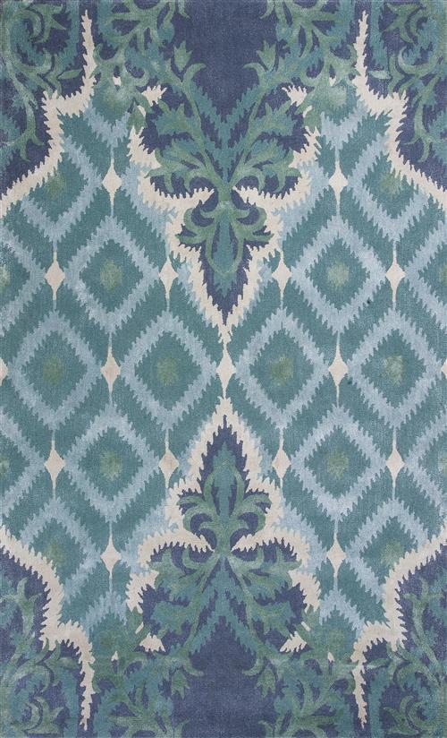 Bob Mackie Home-1007-Blue/Green Opulence