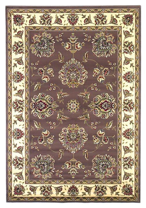 Cambridge-7341-Plum/Ivory Floral Mahal