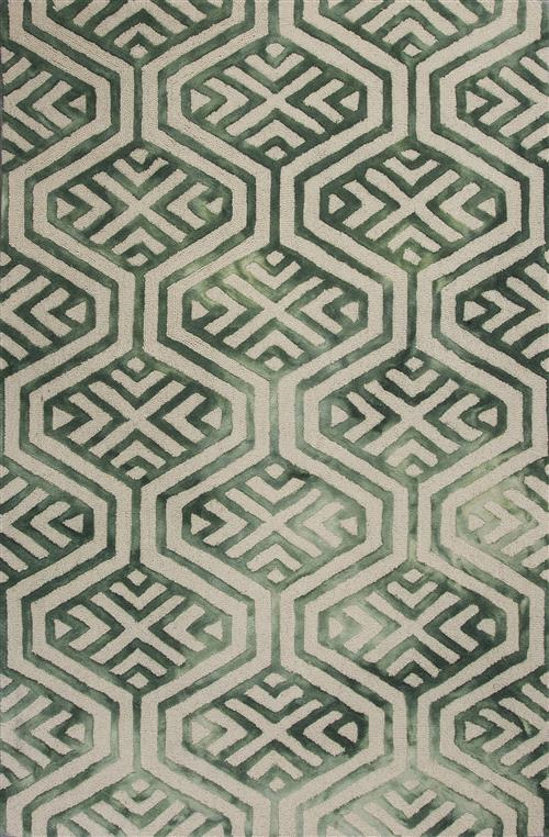 Canvas-2302-Ivory/Green Dimensions