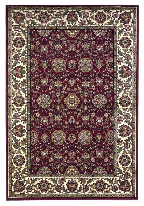 Cambridge-7306-Red/Ivory Floarl Agra