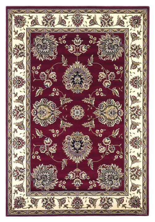 Cambridge-7340-Red /Ivory Floral Mahal