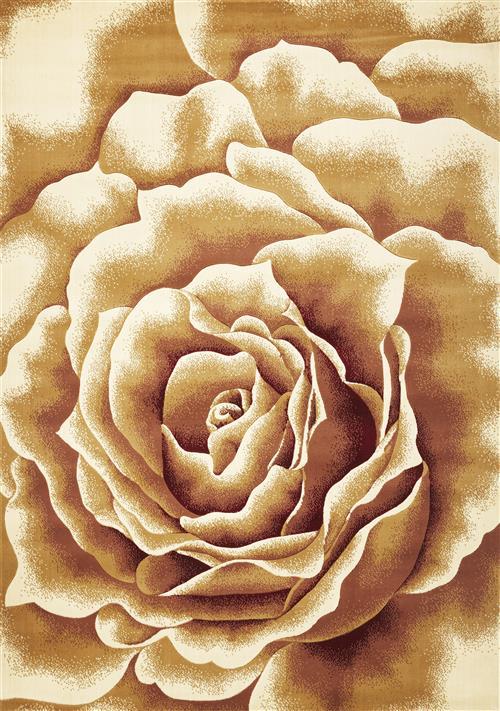 Corinthian-5338-Ivory Floral Splendor