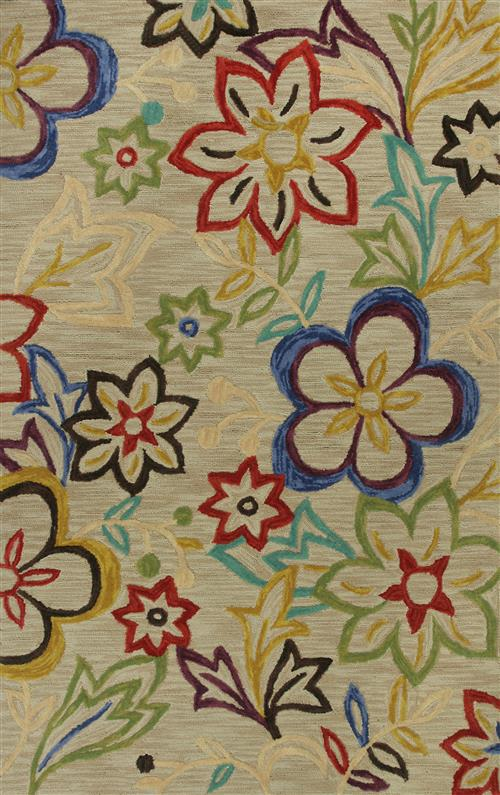 Anise-2418-Beige Sunshine Flora