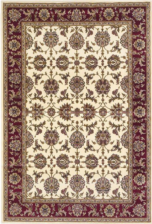 Cambridge-7312-Ivory/Red Kashan