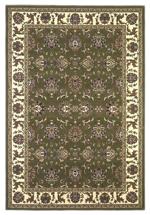 Cambridge-7314-Green/Ivory Kashan