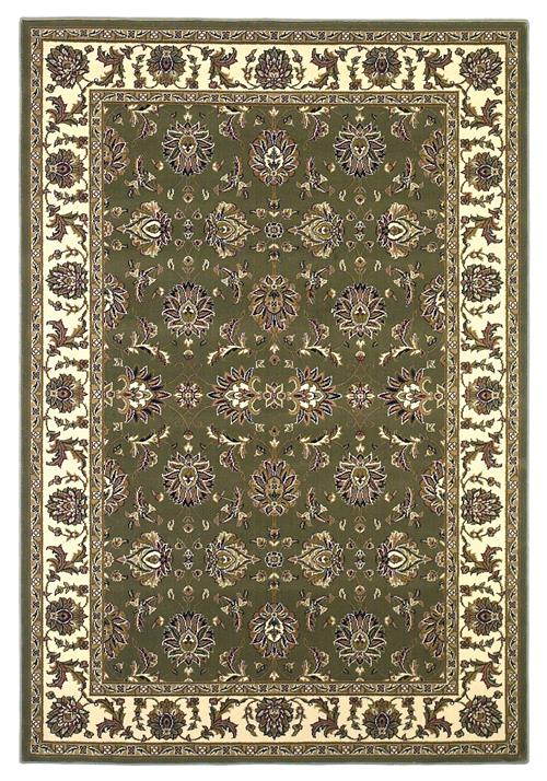 Cambridge-7314-Green/Ivory Kashan