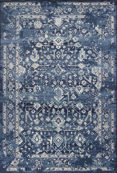 Bob Mackie Home Vintage-1310-Azure Blue Marrakesh