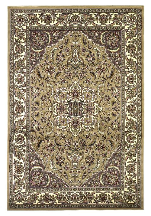 Cambridge-7328-Beige/Ivory Kashan Medallion