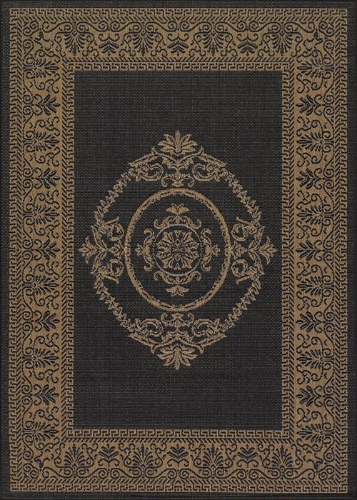 Recife - Antique Medallion - Black/Cocoa