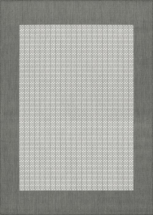 Recife - Checkered Field - Grey/White