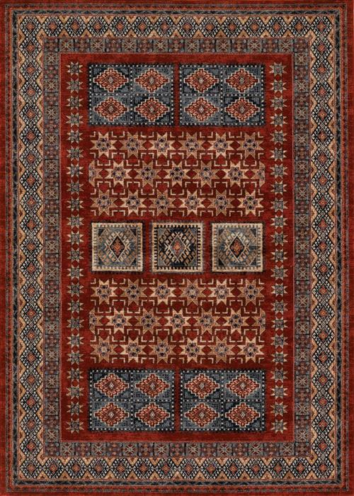 Timeless Treasures - Royal Kazak - Burgundy