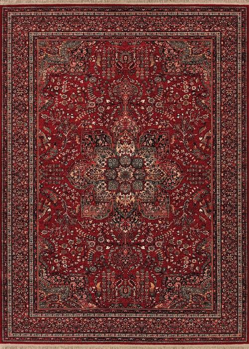 Kashimar - All Over Center Medallion - Antique Red