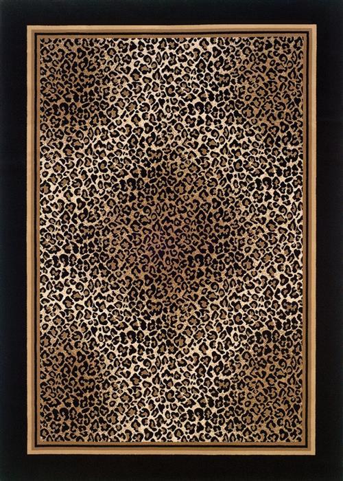Everest - Leopard - Ivory/Black