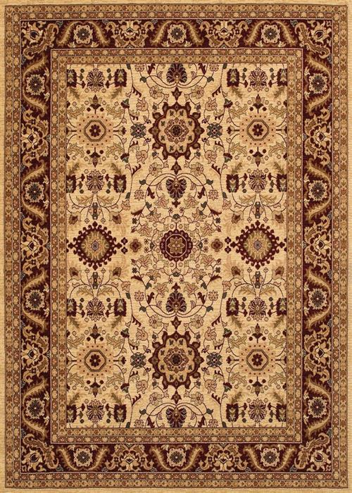 Anatolia - Antique Kashan - Cream/Red