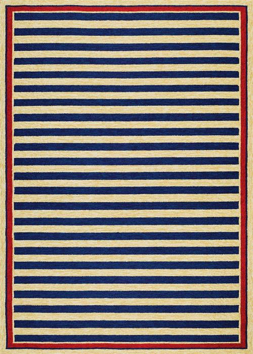 Covington - Nautical Stripes - Navy/Red