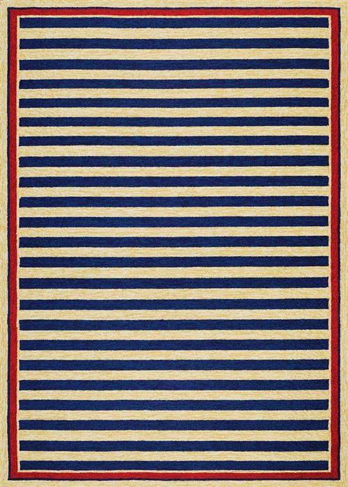 Covington - Nautical Stripes - Navy/Red