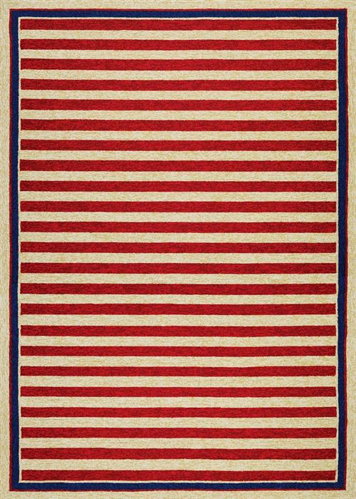 Covington - Nautical Stripes - Red/Navy