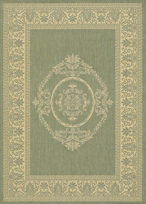 Recife - Antique Medallion - Green/Natural