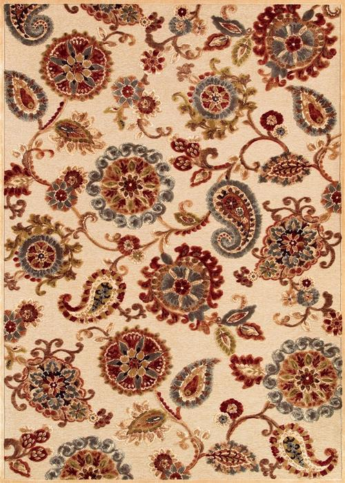 Cire - Marlow - Antique Cream/Ruby
